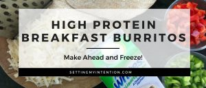 Simple High Protein Breakfasts