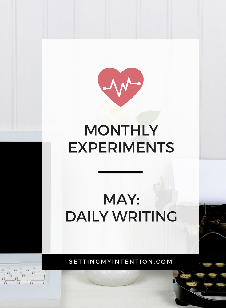 Developing the daily writing habit