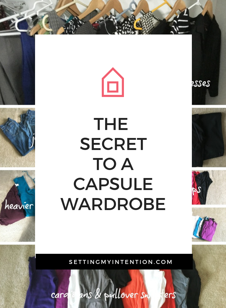 Secret to a Capsule Wardrobe